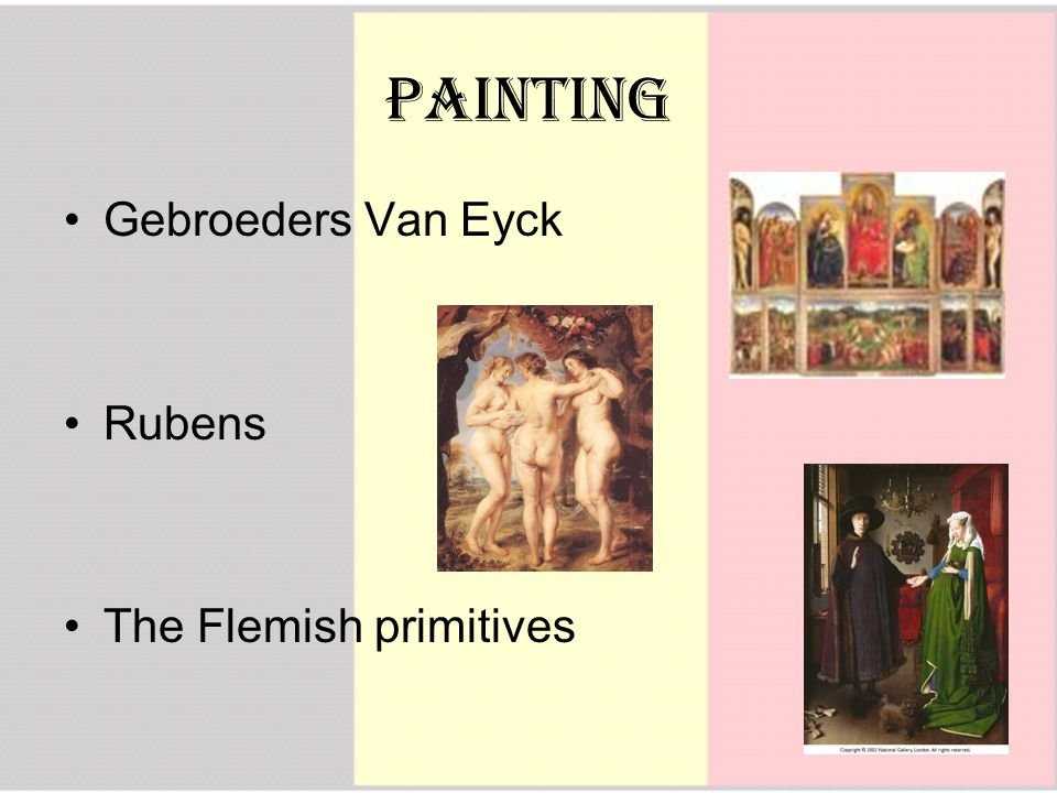 Painting Gebroeders Van Eyck Rubens The Flemish primitives