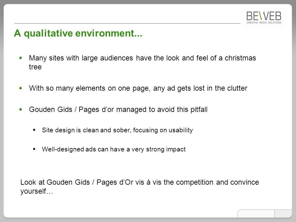 A qualitative environment...