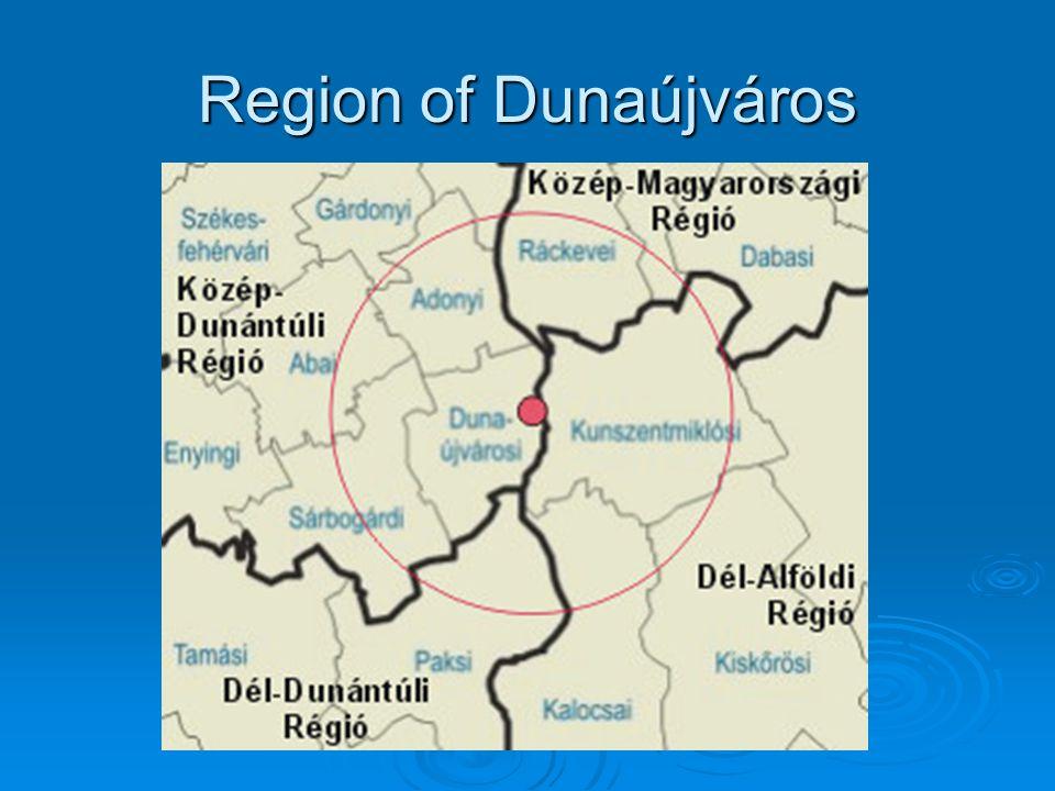 Region of Dunaújváros