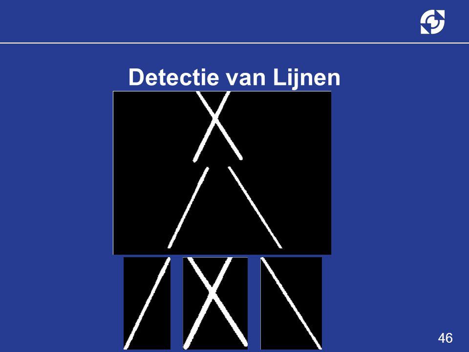 46 Detectie van Lijnen