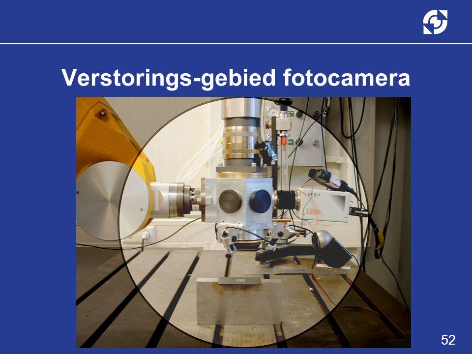 52 Verstorings-gebied fotocamera
