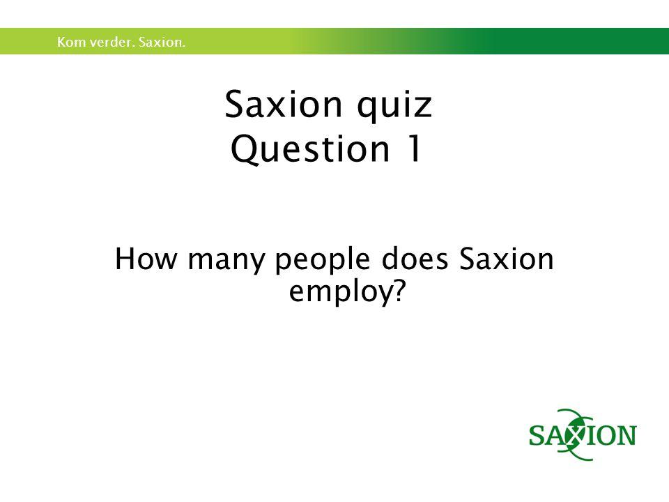 Kom verder.Saxion.