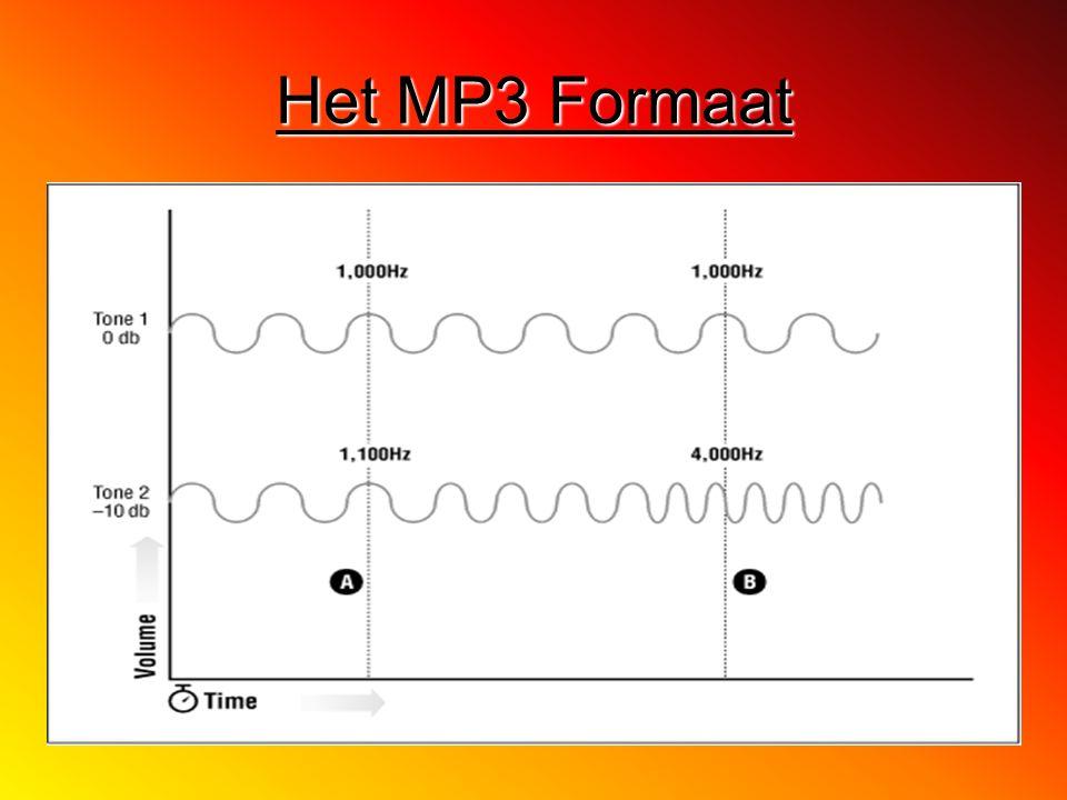 Het MP3 Formaat
