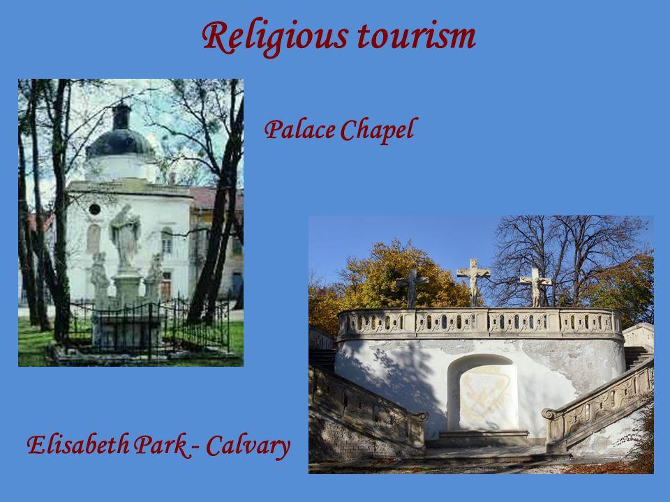 Religious tourism Palace Chapel Elisabeth Park - Calvary
