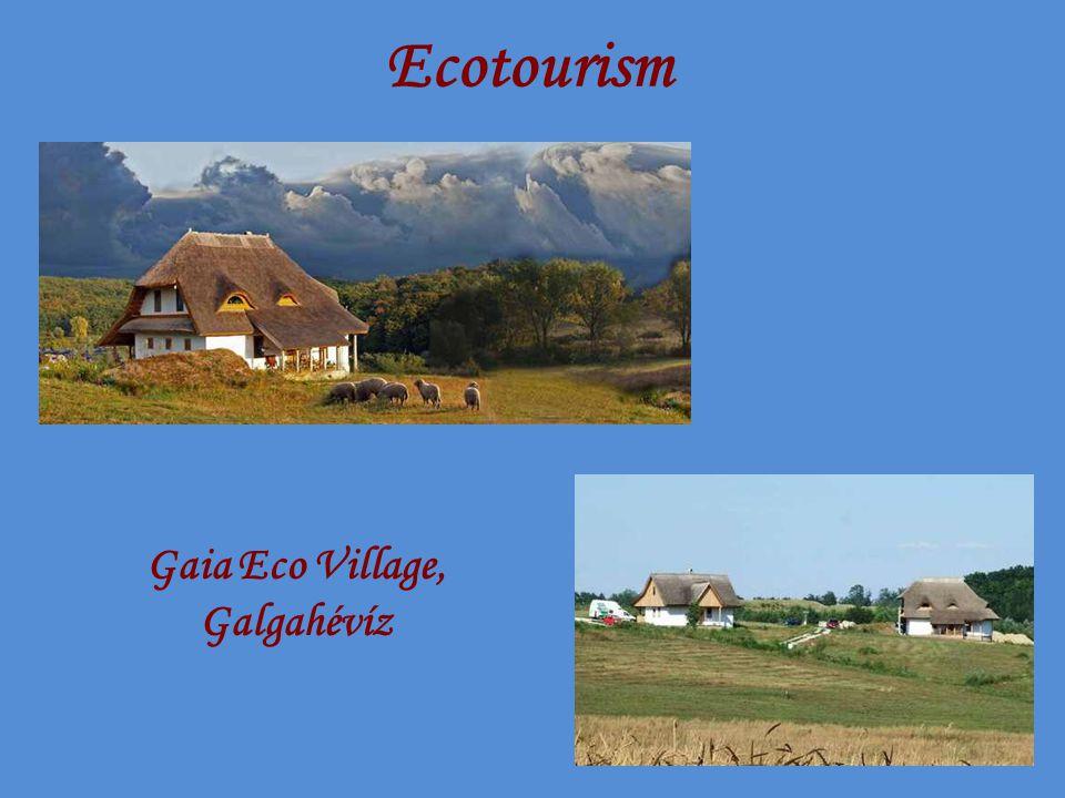 Ecotourism Gaia Eco Village, Galgahévíz
