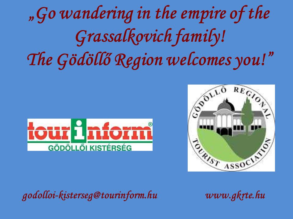 """Go wandering in the empire of the Grassalkovich family."
