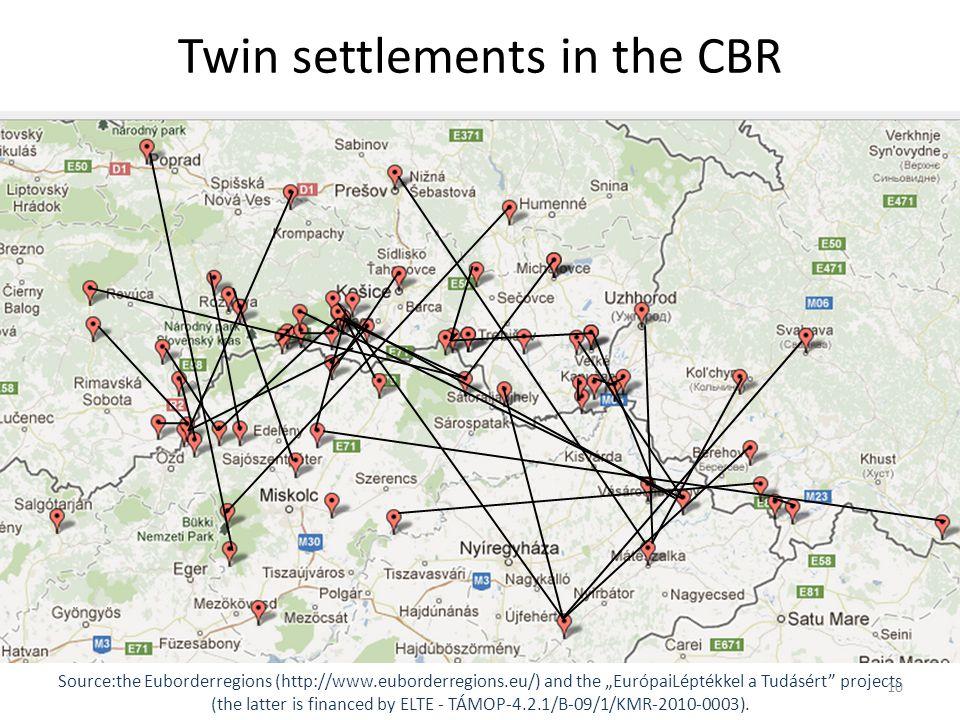 """Márton, GERŐ – István, MICSINAI Source:the Euborderregions (http://www.euborderregions.eu/) and the """"EurópaiLéptékkel a Tudásért projects (the latter is financed by ELTE - TÁMOP-4.2.1/B-09/1/KMR-2010-0003)."""