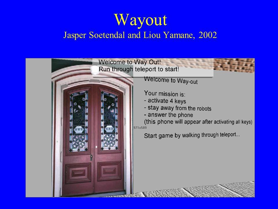 Wayout Jasper Soetendal and Liou Yamane, 2002