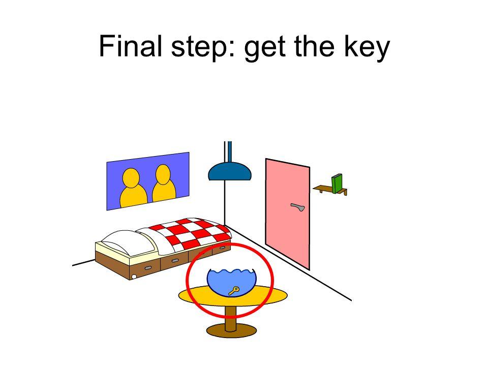 Final step: get the key