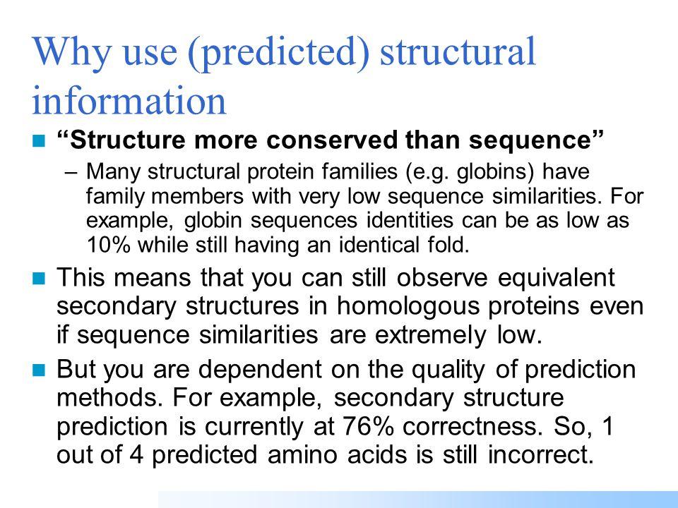 VHLTPEEKSAVTALWGKVNVDE VGGEALGRLLVVYPWTQRFFE SFGDLSTPDAVMGNPKVKAHG KKVLGAFSDGLAHLDNLKGTFA TLSELHCDKLHVDPENFRLLGN VLVCVLAHHFGKEFTPPVQAAY QKVVAGVANALAHKYH PRIMARY STRUCTURE (amino acid sequence) QUATERNARY STRUCTURE (oligomers) SECONDARY STRUCTURE (helices, strands) TERTIARY STRUCTURE (fold) Protein structure hierarchical levels
