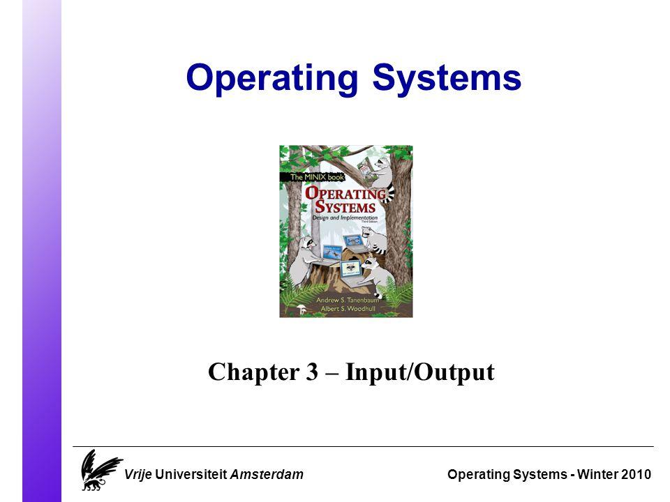 Banker's Algorithm (2/3) Operating Systems 2010 Vrije Universiteit AmsterdamSlide 31