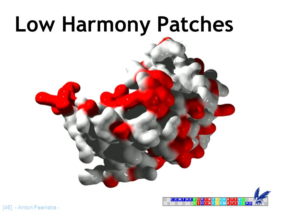 CENTRFORINTEGRATIVE BIOINFORMATICSVU E [46] - Anton Feenstra - Low Harmony Patches