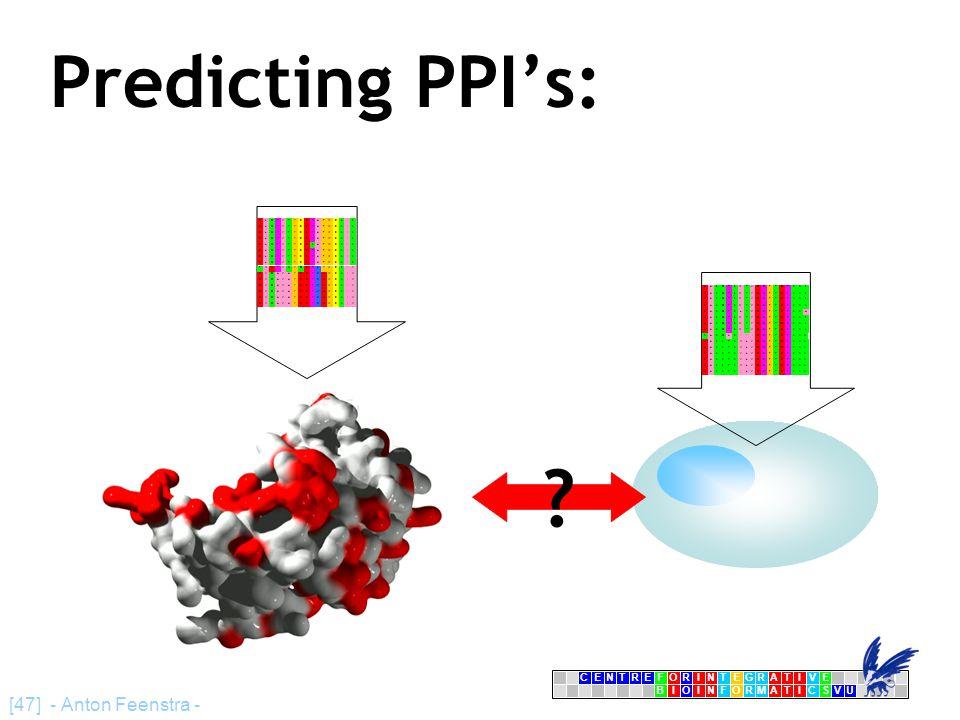 CENTRFORINTEGRATIVE BIOINFORMATICSVU E [47] - Anton Feenstra - Predicting PPI's: DLQPVTYCEPAFWCSIS DLQPVTYCEPAFWCSIS DLQPVTYCEPAFWCSIS DLQPVTYCEPAFWCSIS DLQPVTYCESAFWCSIS DLQPVTYCEPAFWCSIS DLQPVTYCEPAFWCSIS DLQPVTYCEPAFWCSIS TMHPVNYQEPKYWCSIV DVQAVAYEEPKHWCSIV DVQAVAYEEPKHWCSIV DVQAVAYEEPKHWCSIV DVQAVAYEEPKHWCSIV DVQAVAYEEPKHWCSIV DVQAVAYEEPKHWCSIV HASQPSMTVDGFTDPSNS HASQPSMTVDGFTDPSNS HASQPSMTVDGFTDPSNS HASQPSMTVDGFTDPSNS HASQPSLTVDGFTDPSNA HASQPSMTVDGFTDPSNS HASQPSMTVDGFTDPSNS HASQPSMTVDGFTDPSNS NASQLSIIIDGFTDPSNN HASSTSVLVDGFTDPSNN HASSTSVLVDGFTDPSNN HASSTSVLVDGFTDPSNN HASSTSVLVDGFTDPSNN HASSTSVLVDGFTDPSNN HASSTSILVDGFTDPSNN ?
