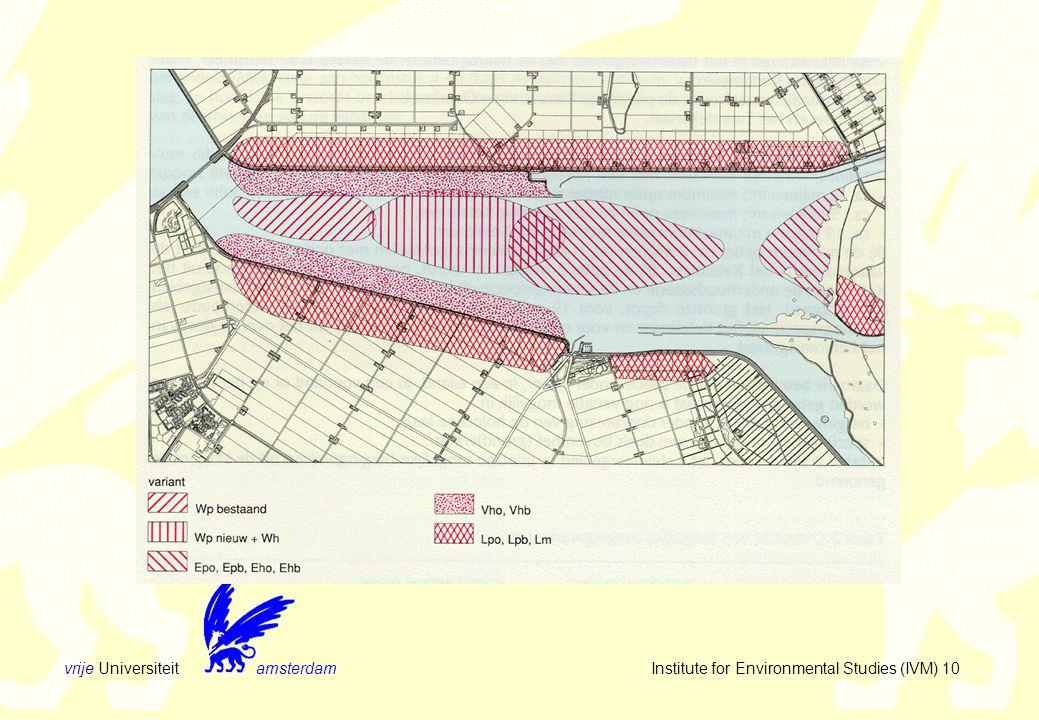 vrije Universiteit amsterdam Institute for Environmental Studies (IVM) 10