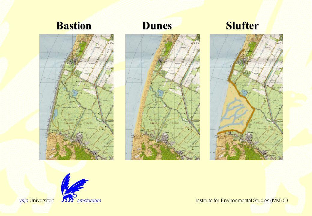 vrije Universiteit amsterdam Institute for Environmental Studies (IVM) 53 BastionDunesSlufter