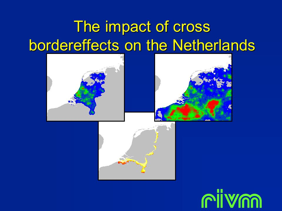 The impact of cross bordereffects on the Netherlands