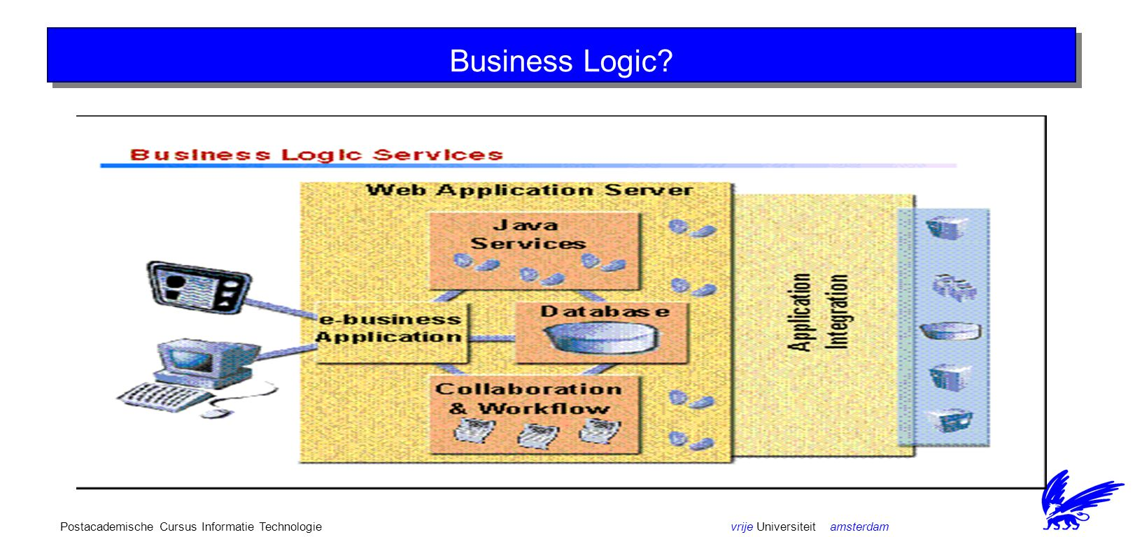 vrije Universiteit amsterdamPostacademische Cursus Informatie Technologie Web Application Server