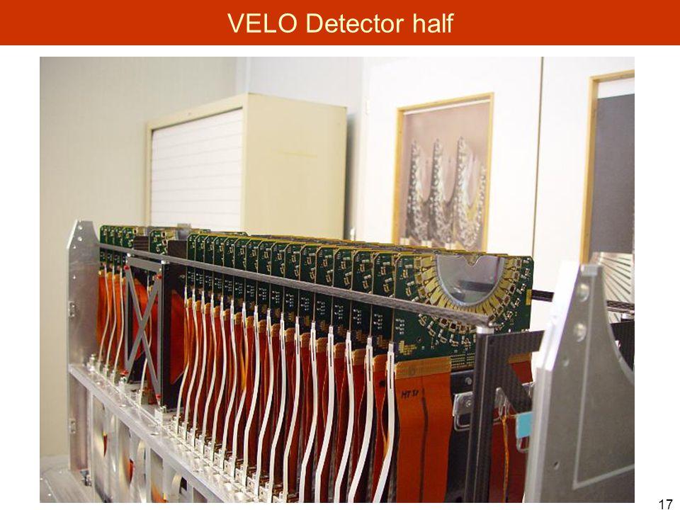 17 VELO Detector half