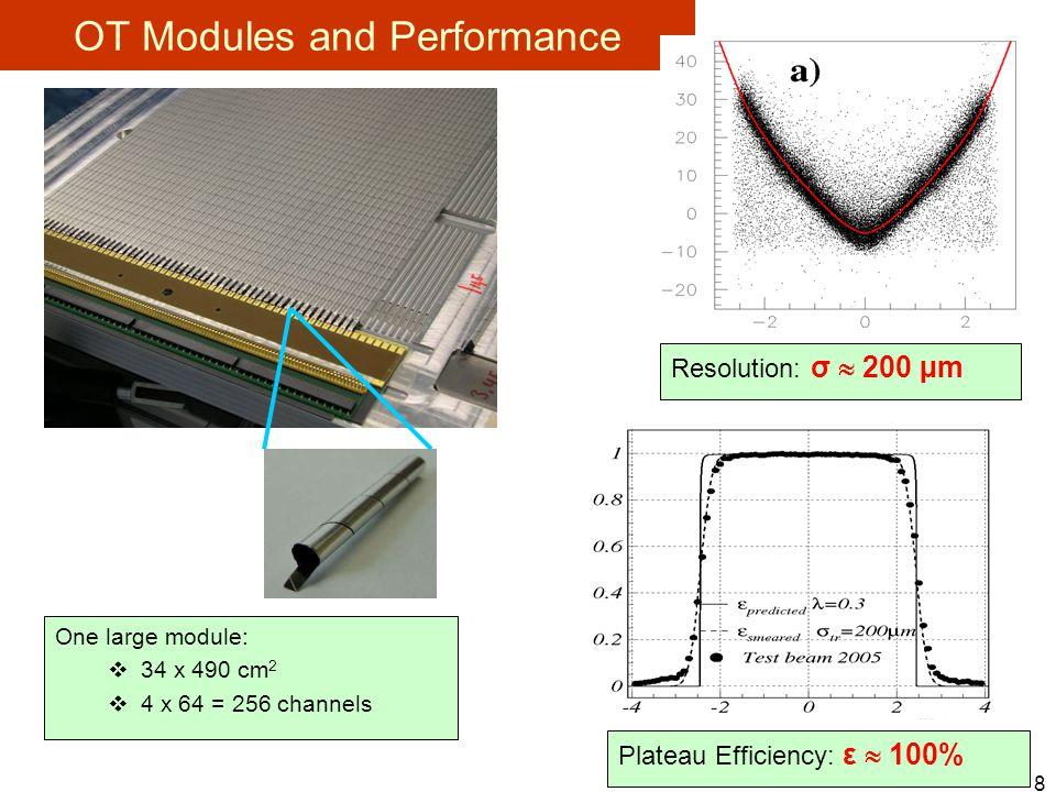 9 Detector Installation - completed Front-End Boxes LV,HV, ECS/TFC..