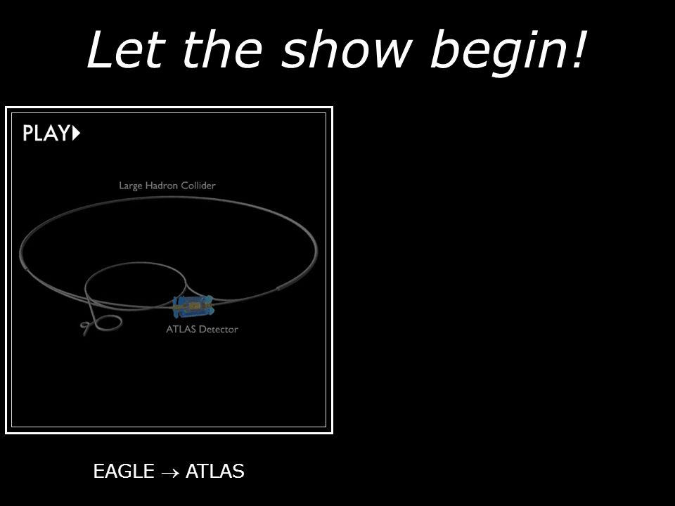Let the show begin! EAGLE  ATLAS