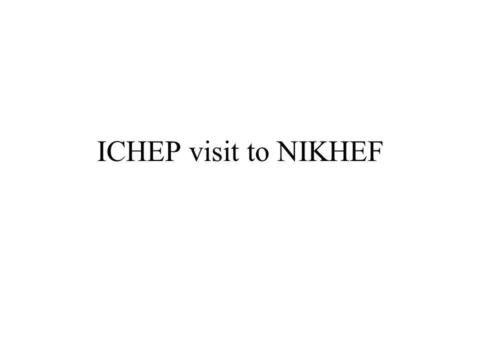 ICHEP visit to NIKHEF