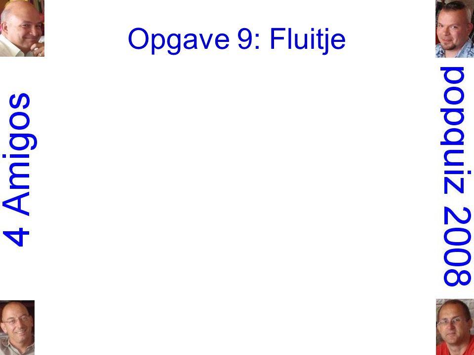 Opgave 9: Fluitje