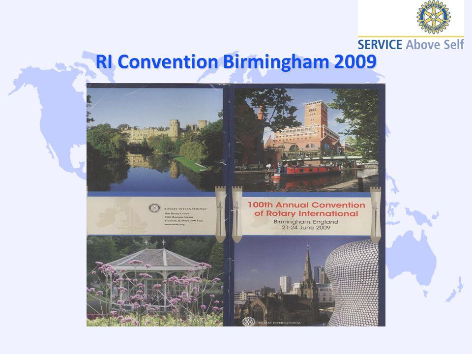 RI Convention Birmingham 2009