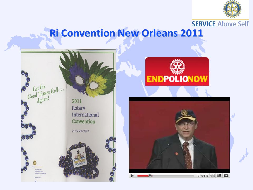 Ri Convention New Orleans 2011