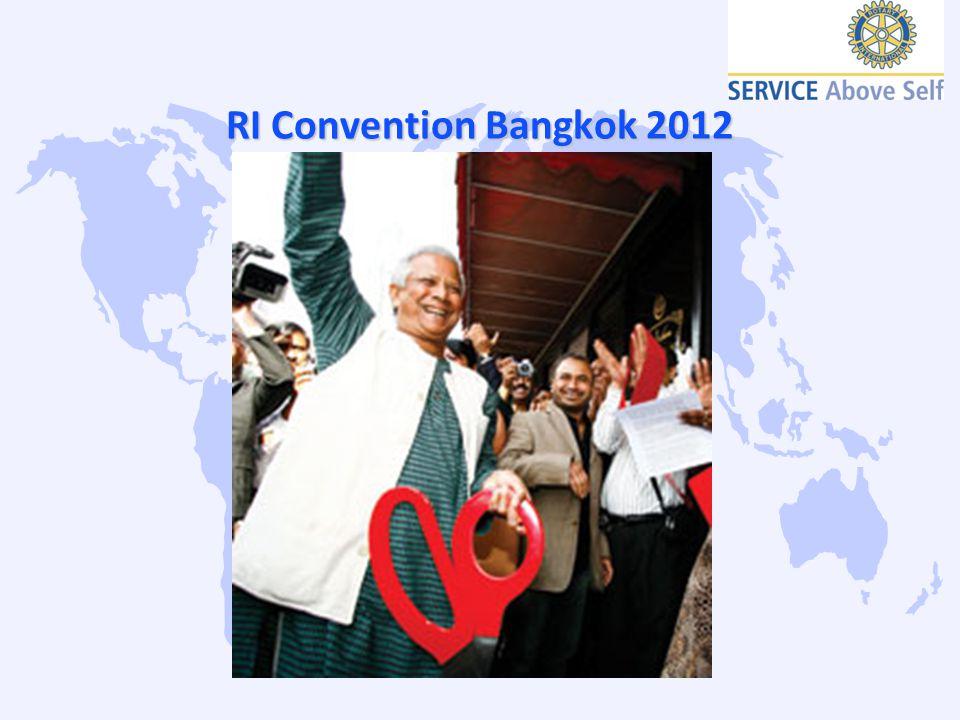 RI Convention Bangkok 2012