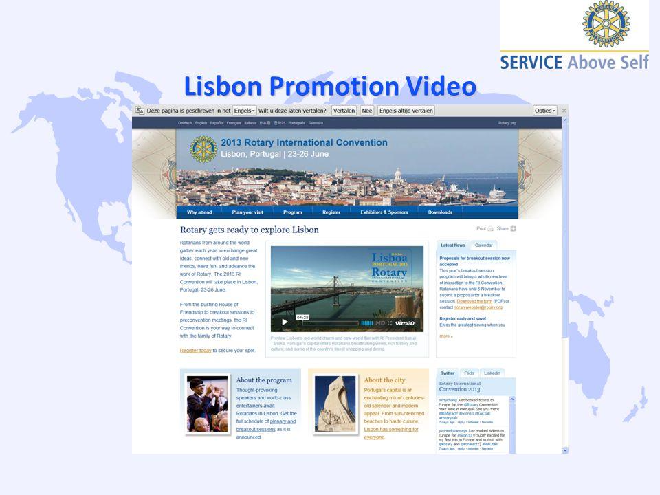 Lisbon Promotion Video