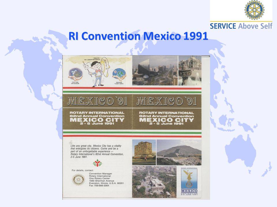 RI Convention Mexico 1991