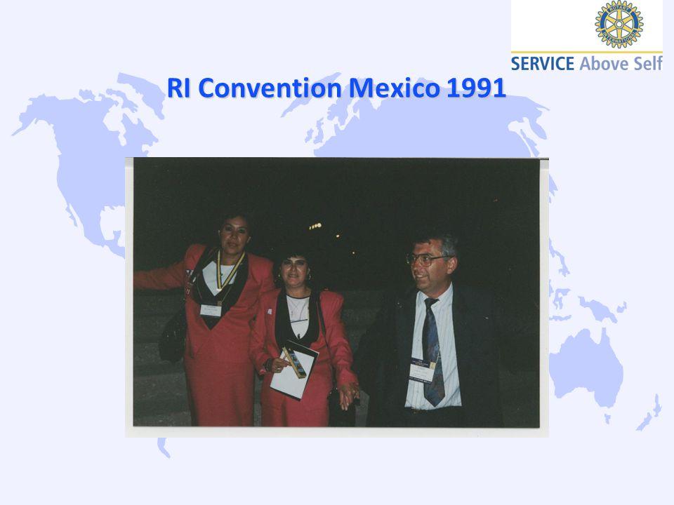 RI Convention Taipeh 1994