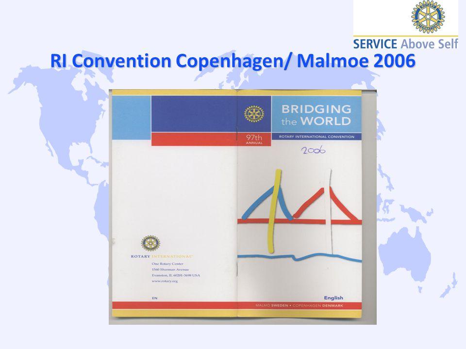 RI Convention Copenhagen/ Malmoe 2006