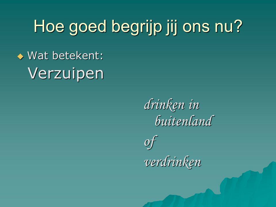 Dutch Orientation Course
