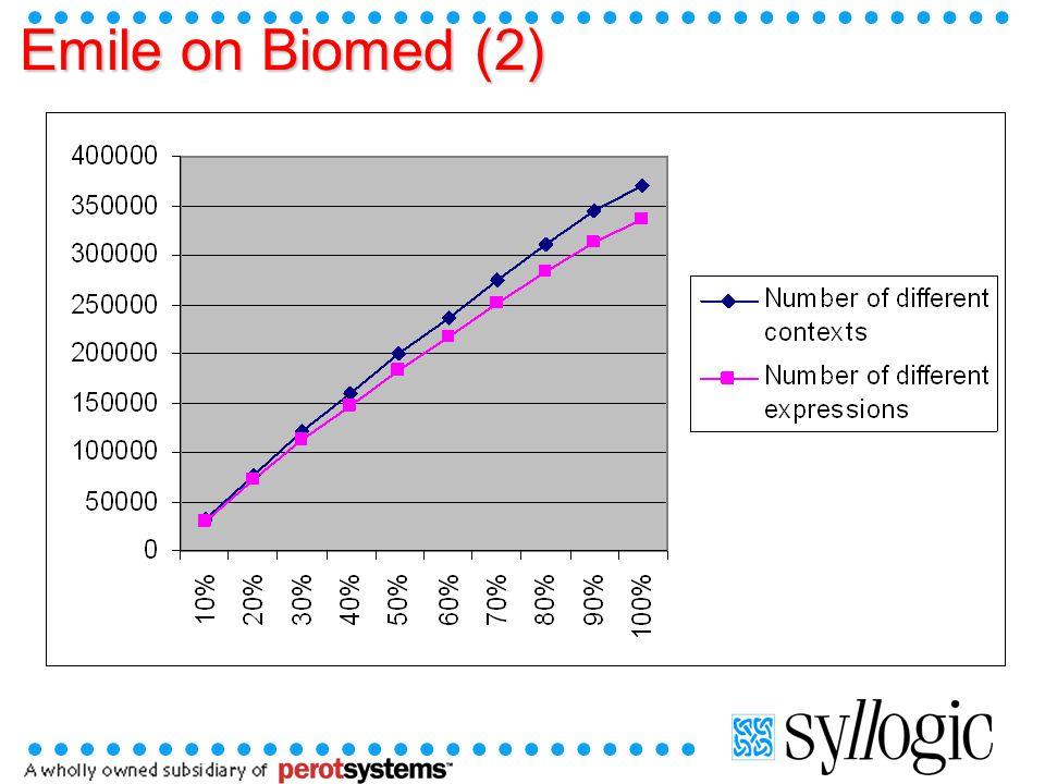 Emile on Biomed (2)