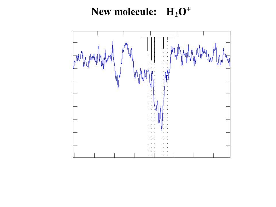 New molecule: H 2 O +