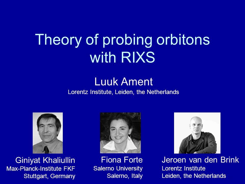 F.Forte, LA and J. van den Brink, Phys. Rev. Lett.