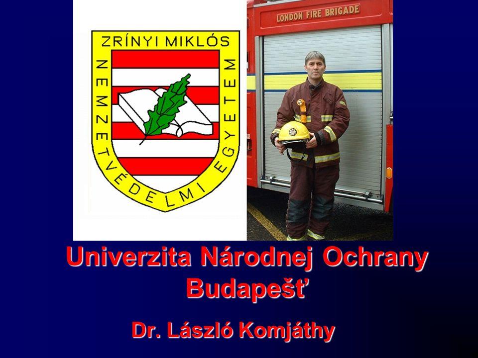 Univerzita Národnej Ochrany Budapešť Dr. László Komjáthy