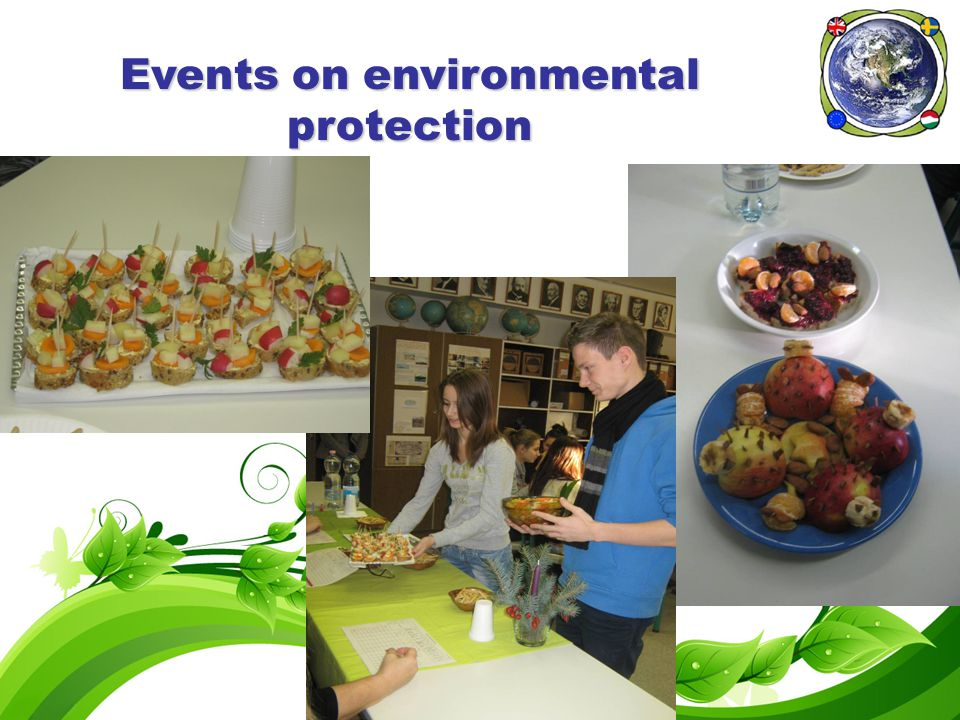 Events on environmental protection