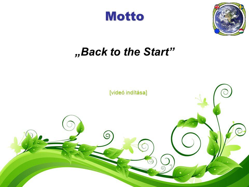 "Motto ""Back to the Start [videó indítása] [videó indítása]"