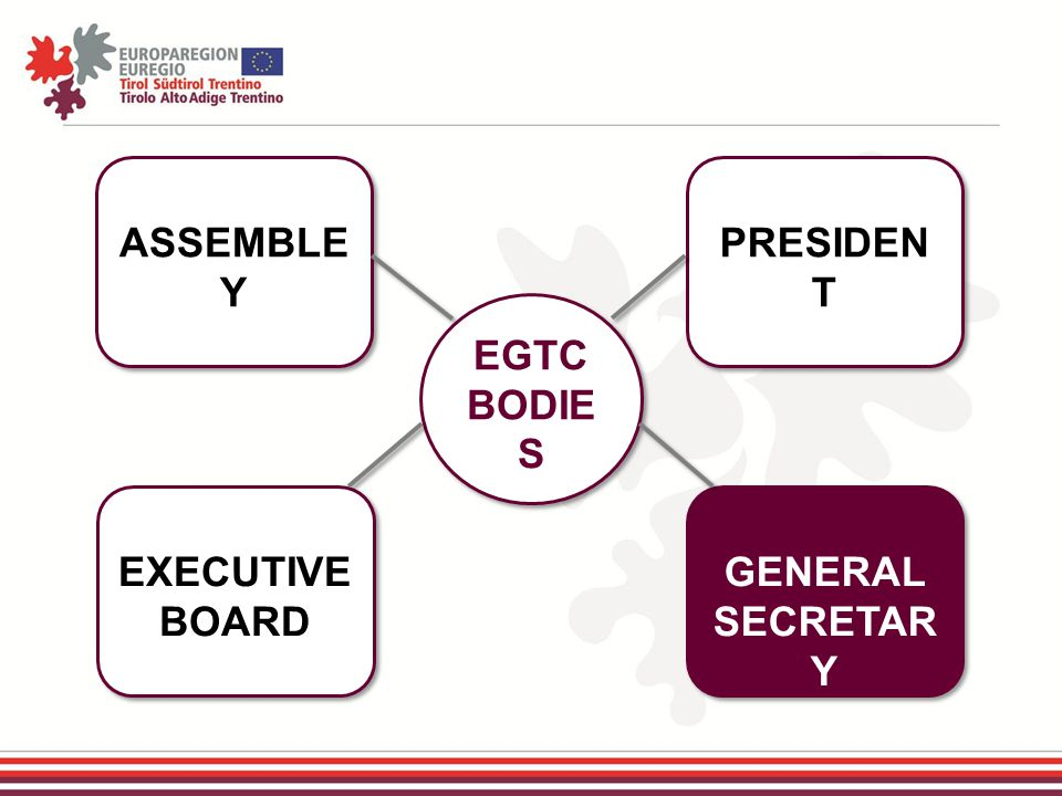 ASSEMBLE Y EXECUTIVE BOARD GENERAL SECRETAR Y PRESIDEN T