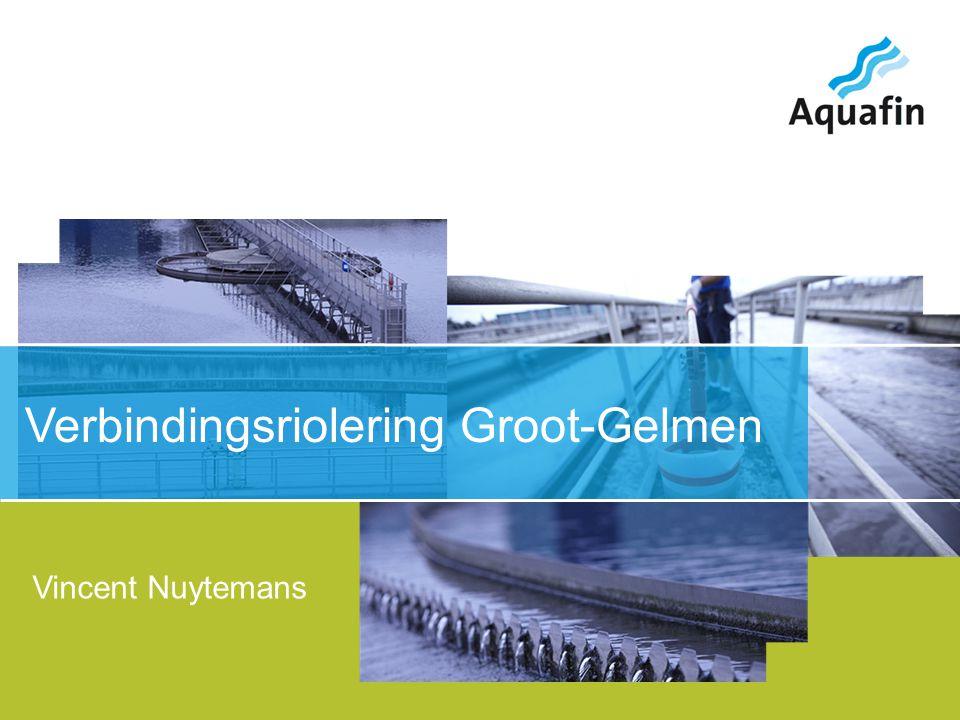 15-12-2010 Aquafin partner for all wastewater projects 2 Overzicht Groot-Gelmenlaan Steendaalstraat Sleeweg Helshovenstraat Klein-Gelmenstraat Bosstraat Merelstraat