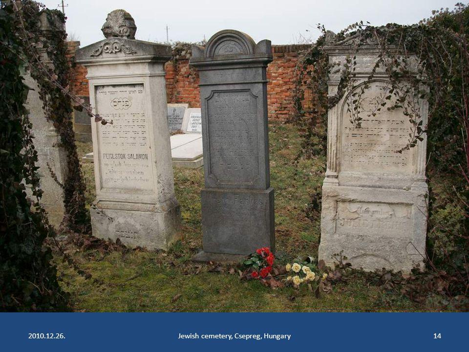 2010.12.26.Jewish cemetery, Csepreg, Hungary13