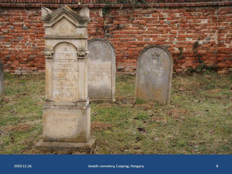 2010.12.26.Jewish cemetery, Csepreg, Hungary8