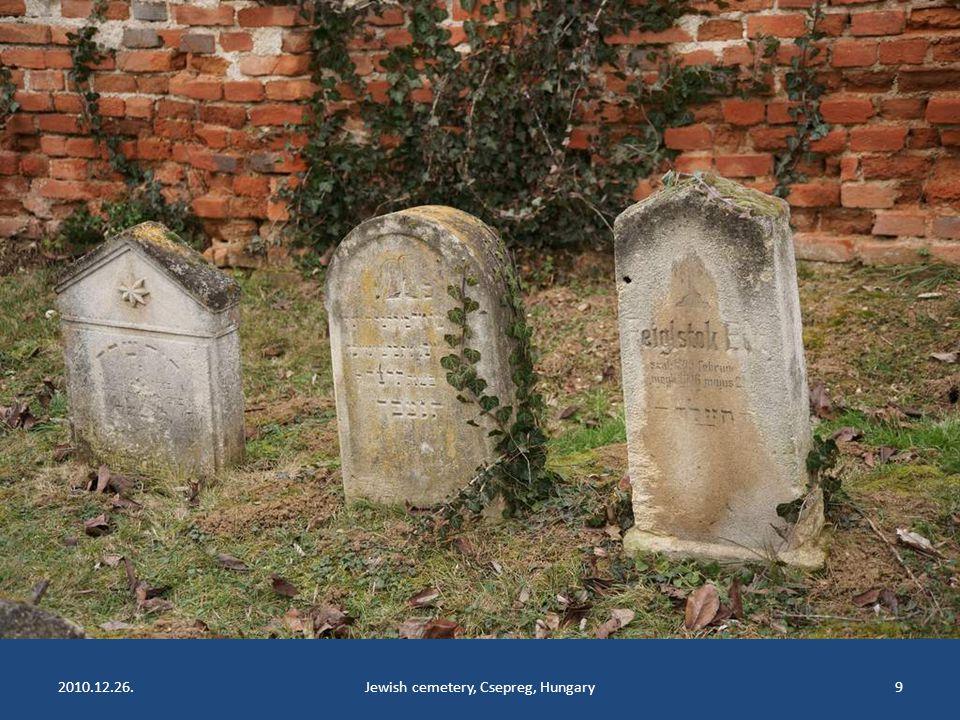 2010.12.26.Jewish cemetery, Csepreg, Hungary9
