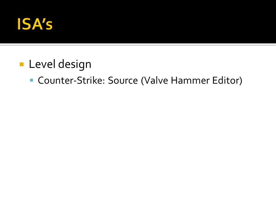  Counter-Strike: Source (Valve Hammer Editor)