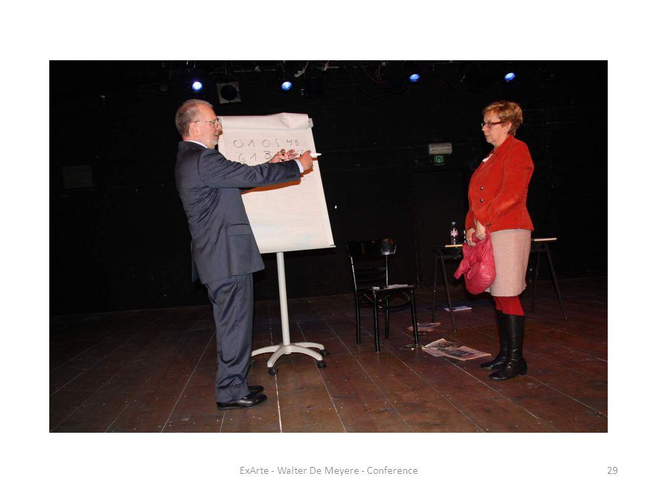 ExArte - Walter De Meyere - Conference29