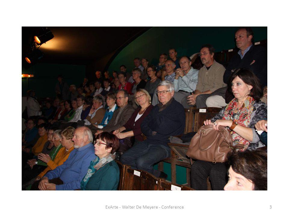 ExArte - Walter De Meyere - Conference14