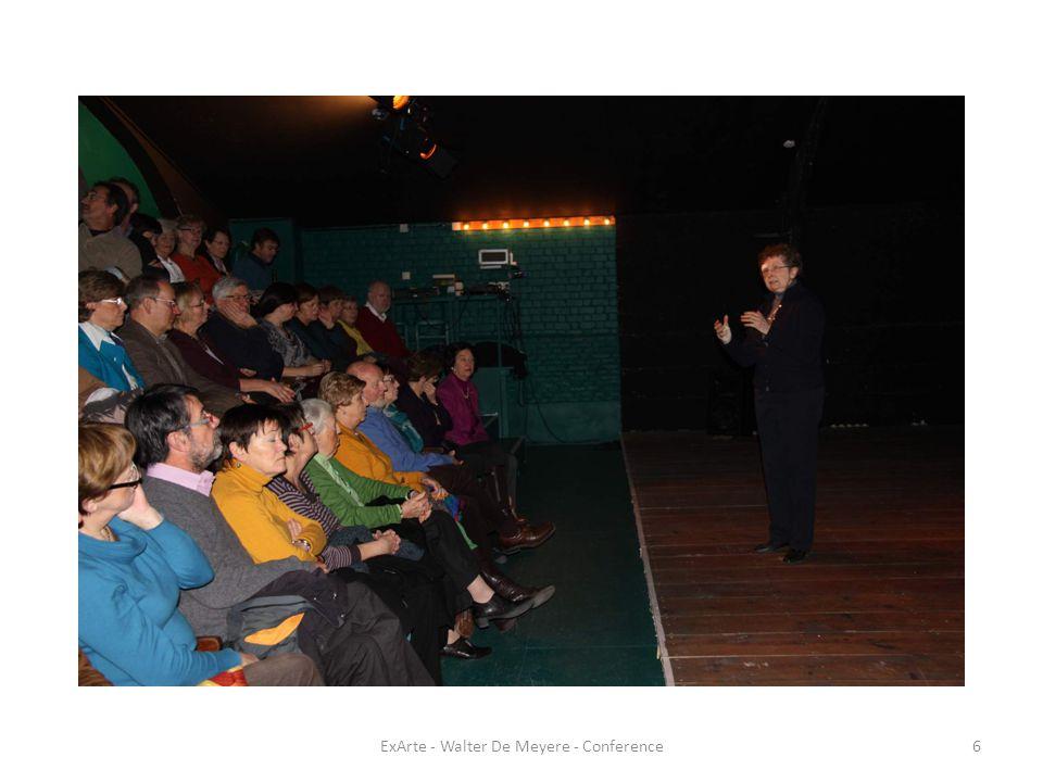 ExArte - Walter De Meyere - Conference27