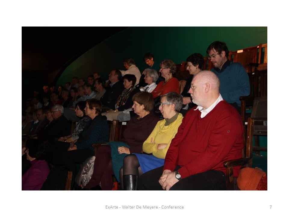 ExArte - Walter De Meyere - Conference18